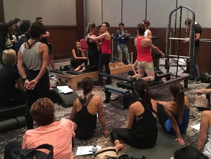 Pilates on tour  2019